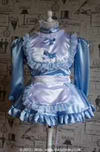 hi-neck-frilly-baby-blue-sissy dress