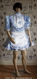 Sissy Dress Frilly Baby Blue Ready2Role JAN17-2