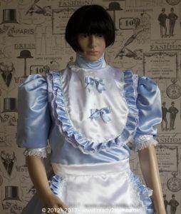 Sissy Dress Frilly Baby Blue Ready2Role JAN17-4