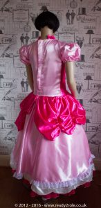 Sissy Dress Princess Peach DEC16-11