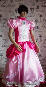 Sissy Dress Princess Peach DEC16-3