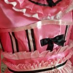 Candy Cupcake Corseted Satin Sissy Dress