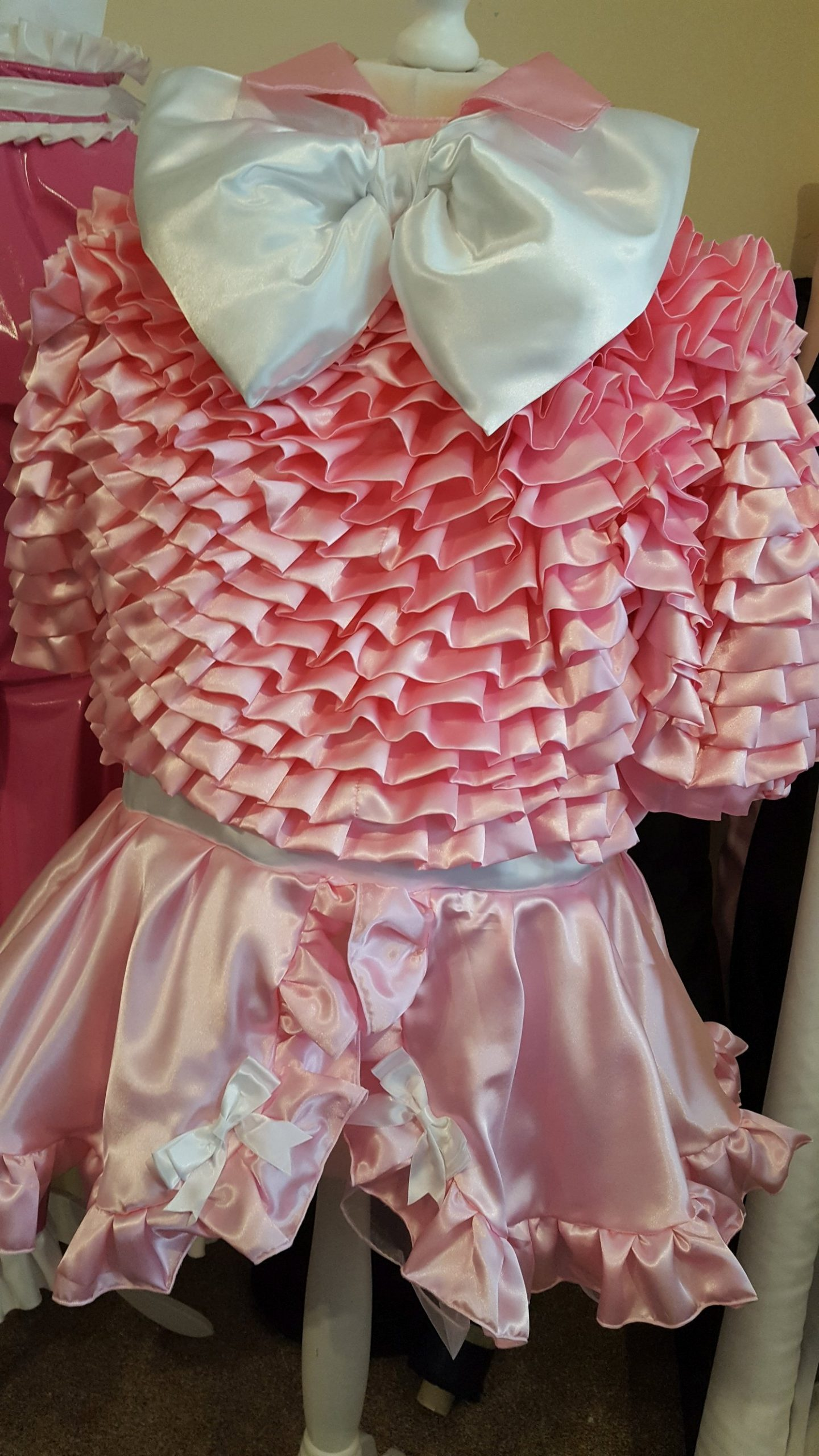 Bow Peek Sissy Dress