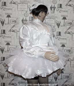 Bridie – Sissy Satin & Organza Dress – Ask About Other Colour Choices 2