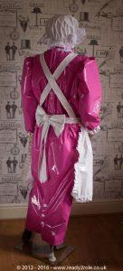 """The """"April"""" Hobbler PVC Dress – Ask About Colour Options 4"""