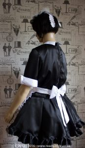 """""""Magenta"""" Sissy Maids Dress in Satin – ask about colour and fabric options 3"""