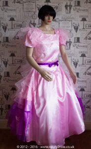 Princess Stephanie – Custom Creation in Satin 2