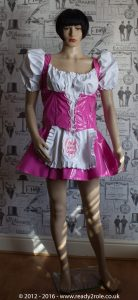 """The """"Heidi"""" Sissy Maid PVC Dress – Ask About Colour Choices – Hand Made to Any Size 1"""
