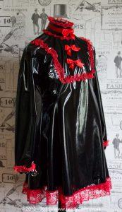 """The """"Fleur"""" PVC Dress – Ask About Colour, Fabric Options 4"""