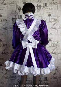 Alice Hi Neck Even More in Satin with Full Removable Apron 2