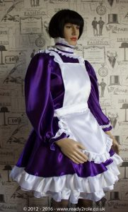 Alice Hi Neck Even More in Satin with Full Removable Apron 1