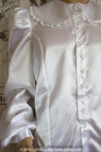 Sissy Satin Blouse – Ask About Colour Choices 4