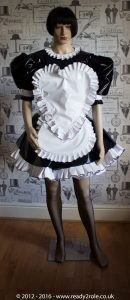"The ""Sweetheart"" Sissy Dress With Interchangeable Apron Sections 2"