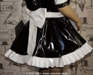 "The ""Sweetheart"" Sissy Dress With Interchangeable Apron Sections 4"