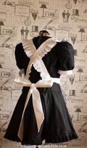 FPJ Full Service Cotton Sissy Maids Dress With Full Apron 3