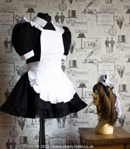 FPJ Full Service Cotton Sissy Maids Dress With Full Apron 2