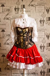 Red Riding Hood SteamPunk Costume 5