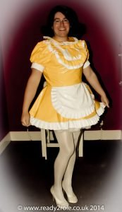 The Aimi PVC Dress (Integrated Apron) – Ask About Colours – Always Made to YOUR Size 2