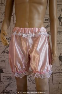 Sissy Satin Bloomers – Ask About Colour Choices 1