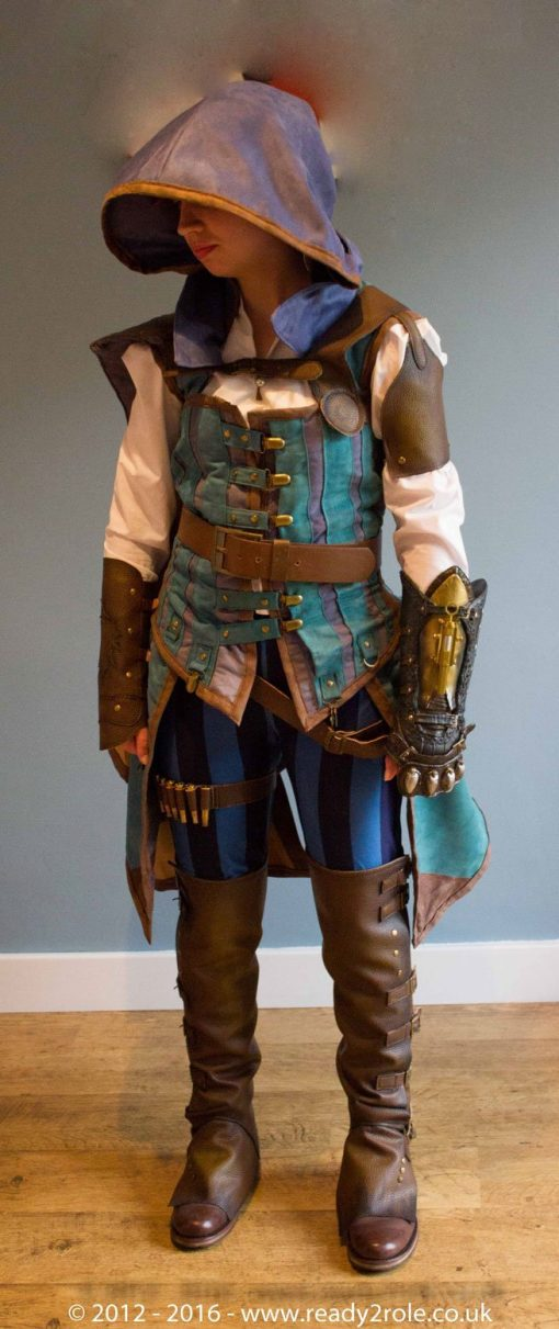 Evie Frye – Assassins Creed Costume – Hand Crafted to Order 12