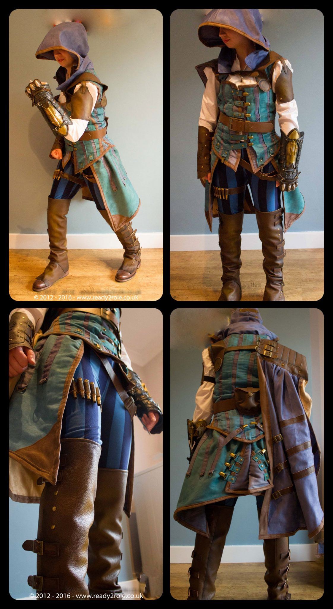 Evie Frye Assassins Creed Costume Hand Crafted To Order