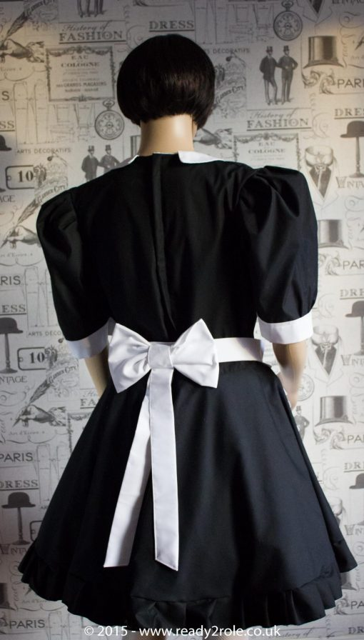 FPJ Maid to Serve – Cotton Sissy Maid Dress With Half Apron 2