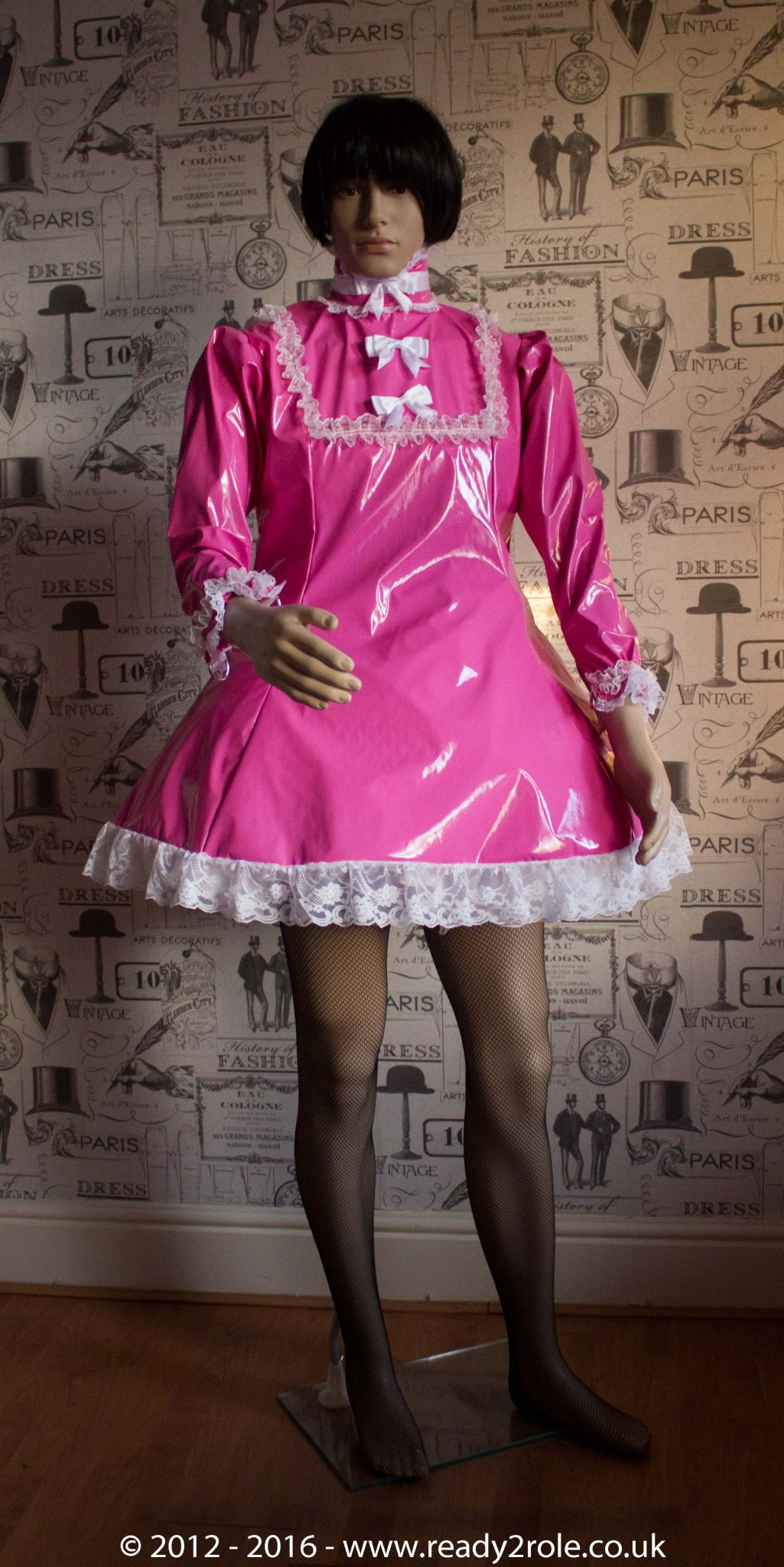 """The """"Fleur"""" PVC Dress – Ask About Colour, Fabric and/or locking Options 2"""