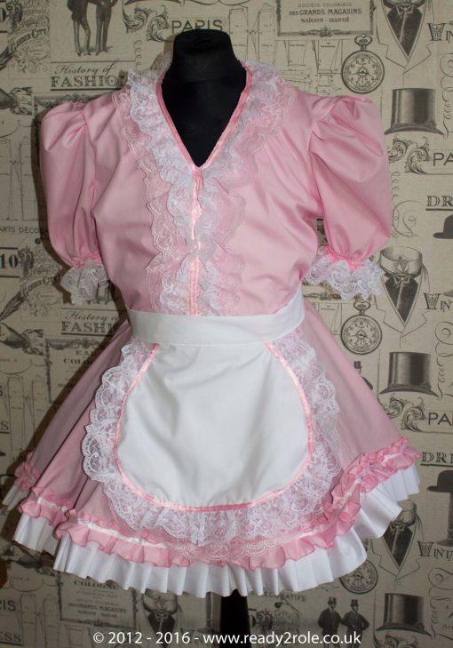 Verity Sissy Maids Dress (Pink Version) 1