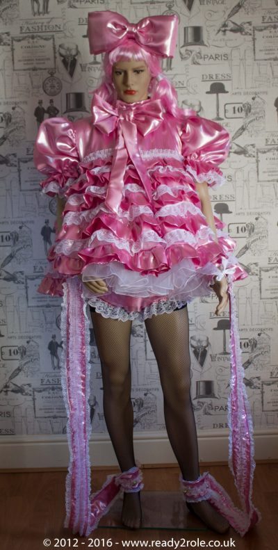 """Liquid Lola"" Sissy Satin Outfit – Ask About Colour Choices – Each Order is Hand Crafted to Your Sizes 1"