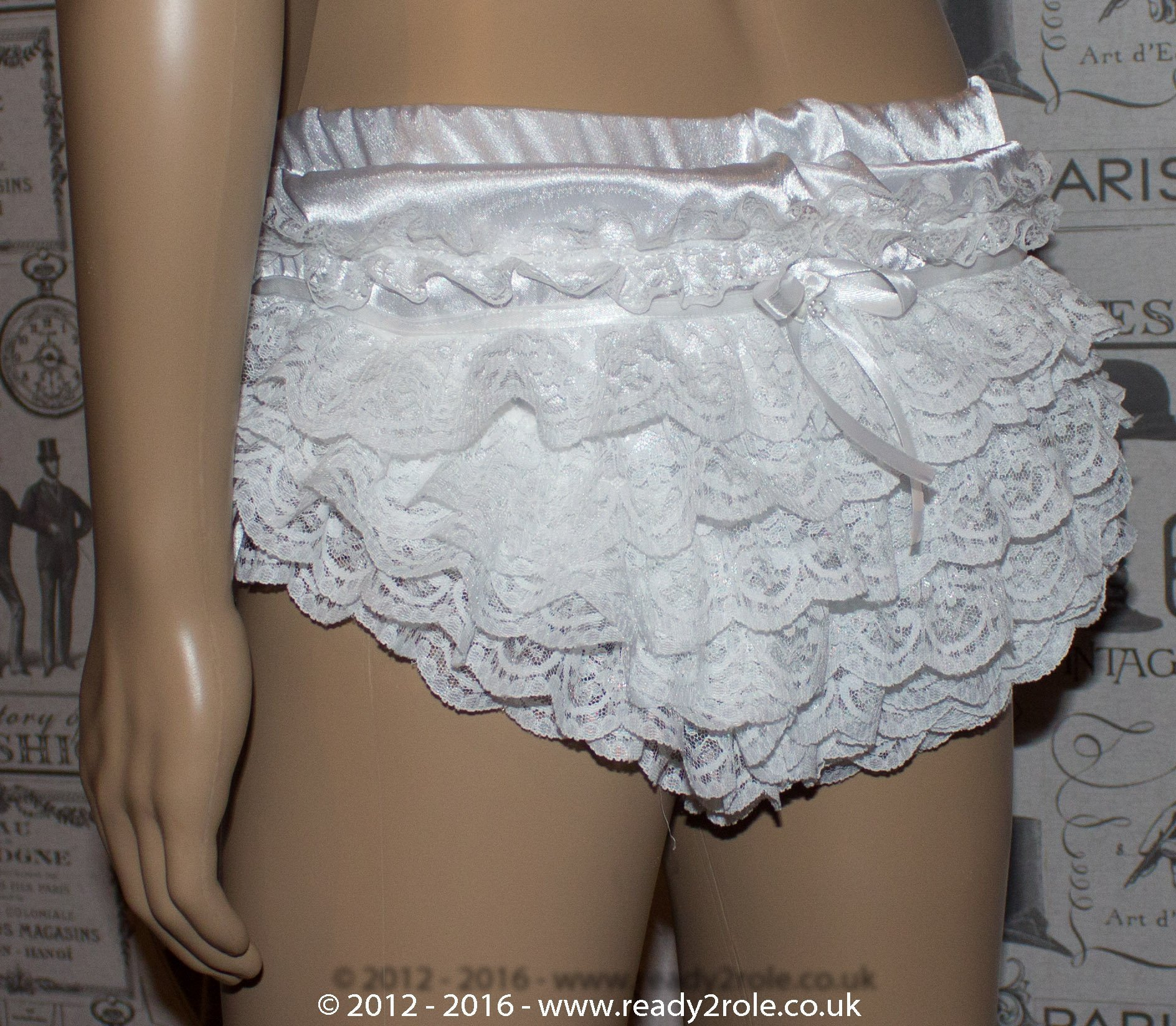 Sissy Satin Panties – The Sophie Style – Ask About Colour Options 2