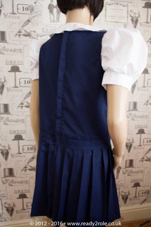 Adult School Uniform Dresses – Pinafore Style Knife Pleat Skirt 2