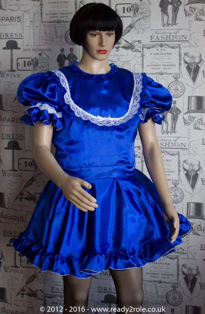 """Princess Starre"" Sissy Satin Dress 1"