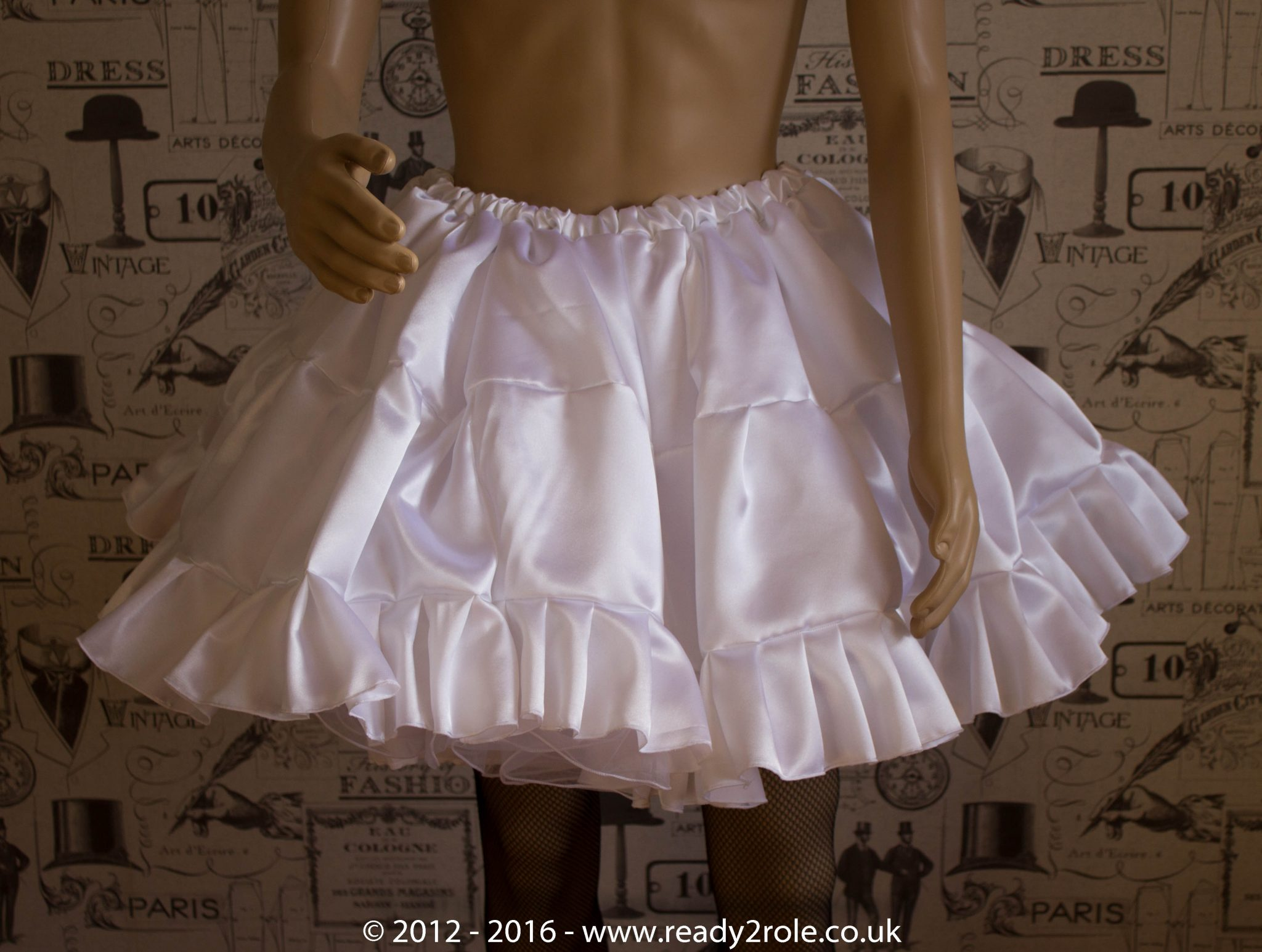 Sissy Frilly ULTRA Hand Crafted 4 Layer Petticoat 2