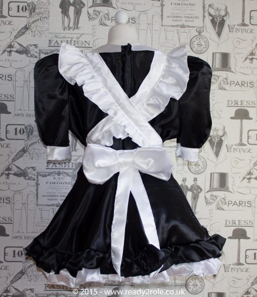 Maid Bow Peek – Sissy Maids Dress 2