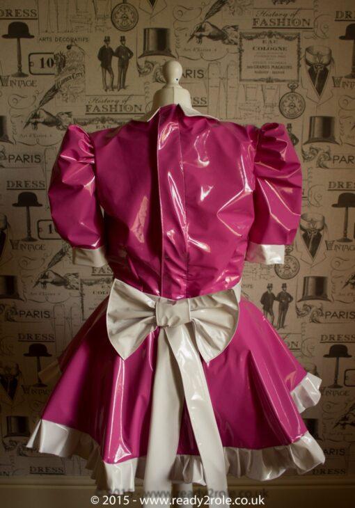 Milly Bow Back – Sissy PVC Dress 2