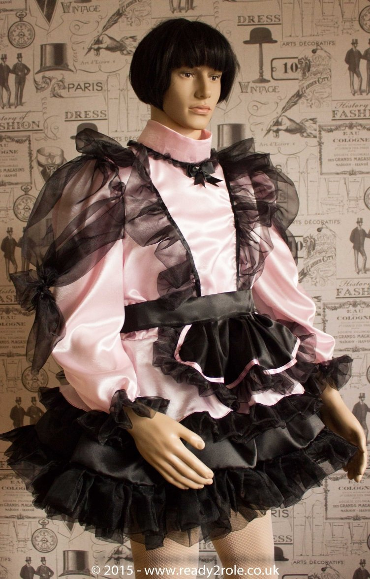Mitzi – Sissy Satin & Organza Dress – In Pink Here But Ask About Other Colour Choices 1