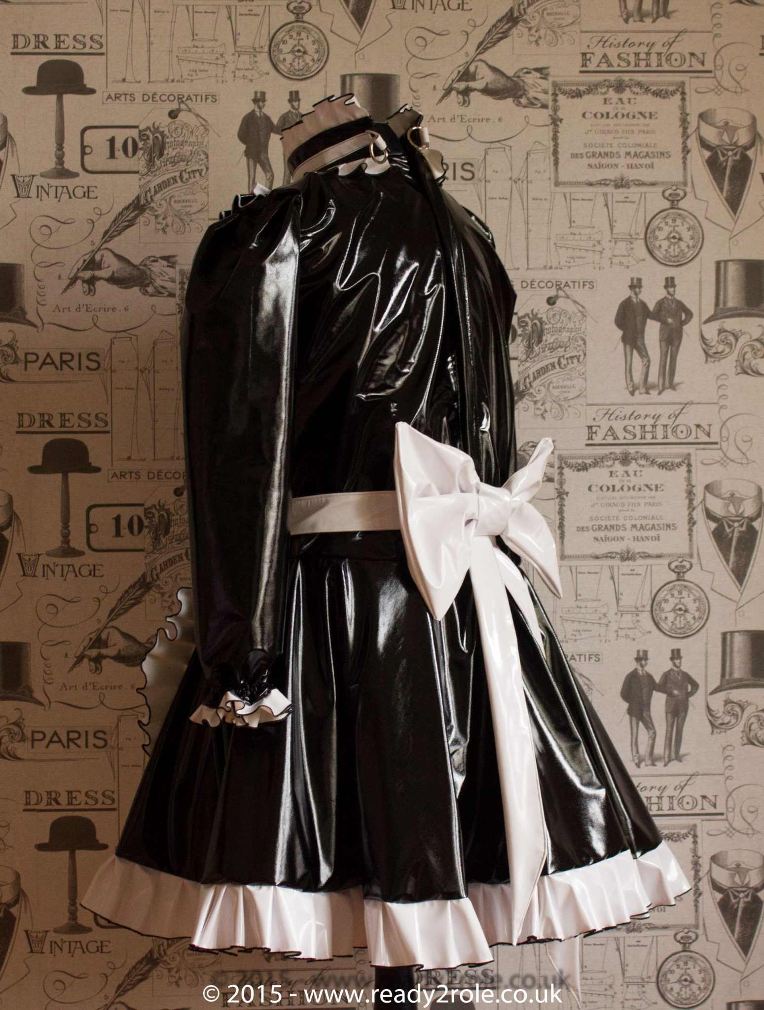"The ""Lucy Locket"" Sissy Lockable PVC Dress – Ask About Colour Choices – Hand Made to Any Size 2"