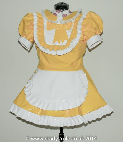 The Aimi PVC Dress (Integrated Apron) – Ask About Colours – Always Made to YOUR Size 1