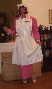 PVC Hobble Dress - April