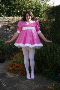 Milly Baby Doll PVC Sissy Dress - Sarah
