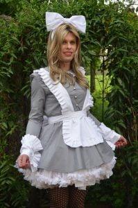 Django Sissy Maid Dress