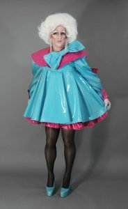 Reign Bow PVC Sissy Dress - Queerina